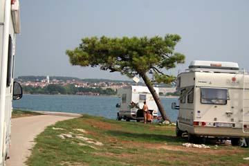 am Campingplatz Medulin, Medulin, Istrien, Kroatien