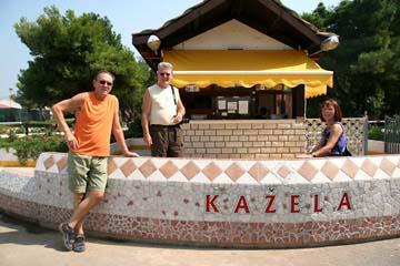 am Campingplatz Kazela, Medulin, Istrien, Kroatien