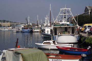 am Hafen in Pula, Istrien/Kroatien