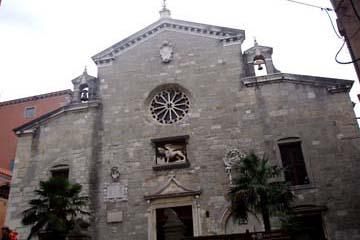 Kirche Mariä Geburt in Labin, Istrien/Kroatien