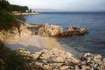 schöne Badebucht bei Rabac, Istrien/Kroatien