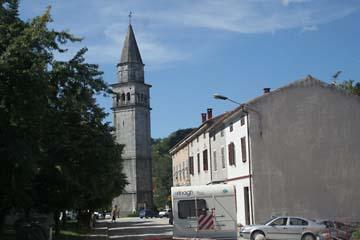 Kirche in Pazin, Istrien/Kroatien