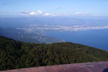 Aussicht vom Yukta auf Bucht von Rijeka, Istrien/Kroatien