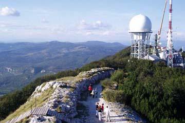 Stationen auf dem Berg Yukta, Ucka-Gebirge, Istrien/Kroatien