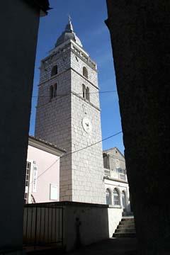 Basilika in Omisalj, Insel Krk, Kroatien