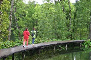im Nationalpark Plitwitzer Seen, Kroatien