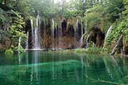 Die Plitwitzer Seen in der Kvarner Bucht in Croatia