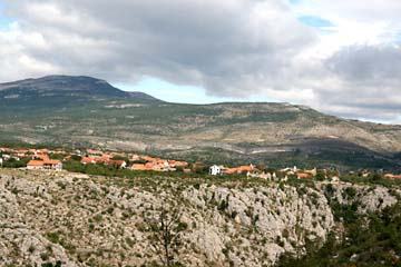 Landschaft bei Knin - Drnis, Kroatien