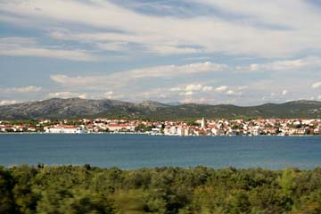 Landschaft bei Sibenik, Kroatien
