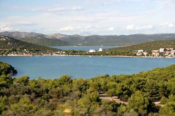 Ausblicke von Insel Murter, Kroatien
