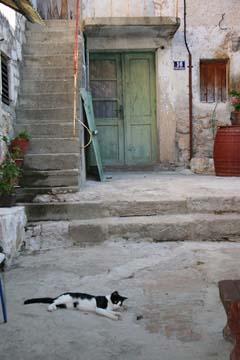 Idylle in Betina, Insel Murter, Kroatien