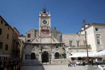 Zadar, Rathaus am Narodnj-trg-Platz, Kroatien
