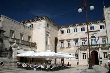 Zadar, Platz Narodnj trg, Kroatien