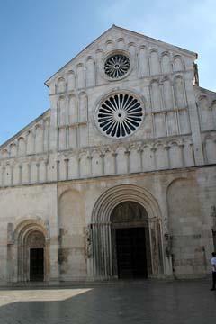 Kirche in Zadar, Kroatien