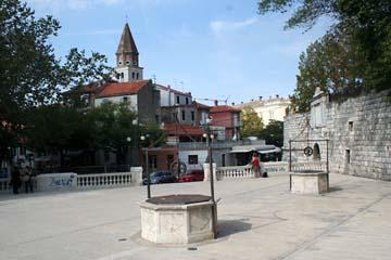 Zadar, Fünf-Brunnen-Platz, Kroatien