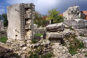 Ausgrabungen in Nin, Kroatien