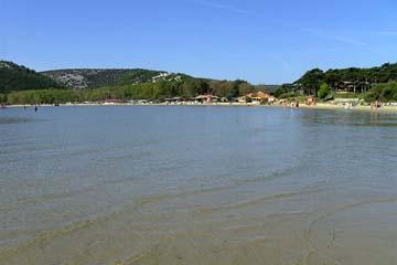 Badestrand Lopar, Insel Rab, Kroatien
