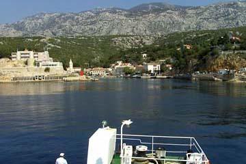 Fährhafen Minsniak, Kroatien