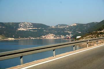 Küstenstraße Senj - Rijeka, Kroatien