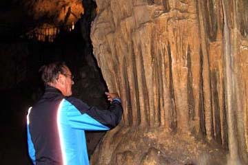 """""""Orgelpfeifen"""" in der Höhle von Postojna, Slowenien"""
