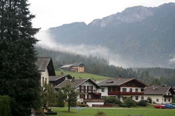 Fahrt durch Österreich