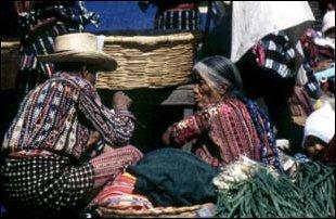 auf dem Markt von Solola, Guatemala