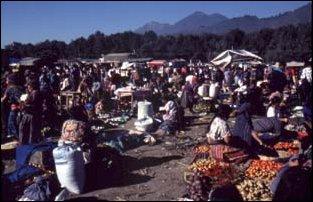 der Markt in Antigua, Guatemala