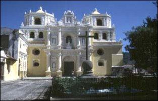 die Kirche La Merced, Antigua, Guatemala