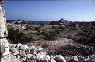 die Ruinen von Tulum, Mexico