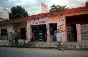 Beschauliches Dorf in der Nähe von Merida, Yucatan