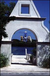 Aussicht auf der Radtour durch die Isla Mujeres bei Cancun