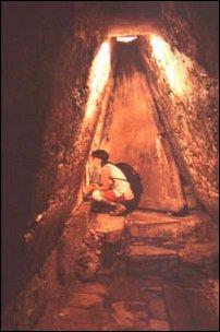 die Grabtüre des Temple of Inscriptions, Palenque, Mexiko