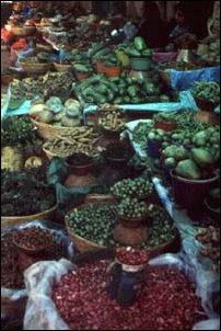 auf dem Markt in San Cristobal, Mexiko