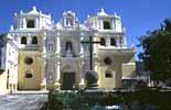 Die Kirche La Merced in La Antigua in Guatemala