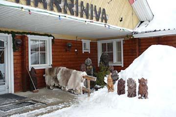 Unser Hotel in Lappland