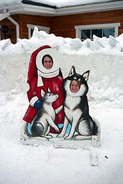 Der Husky und der Nikolaus...