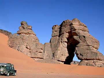 in Akakus-Nationalpark, Libyen