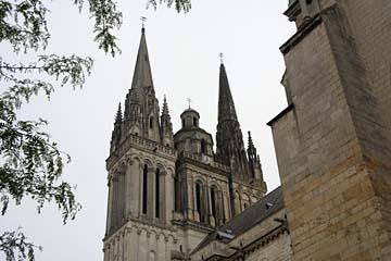 Kirche in Angers, Loiretal