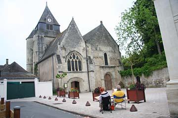 Kirche von Azay-le-Rideau