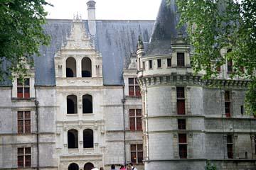 Wasserschloß Azay-le-Rideau