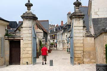 Spaziergang in Azay-le-Rideau