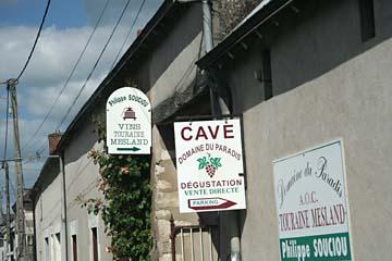 Weingut Domaine, du Paradis im Ort Onzain