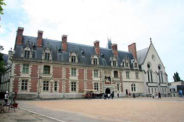 Schloß Blois in Blois