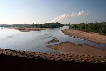 Blick in die Loire bei Nevers