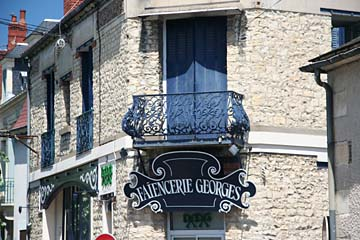 schöner franz. Balkon in Nevers
