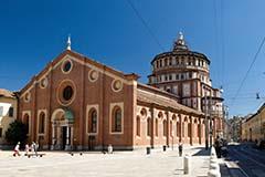 Die Kirche Santa Maria in Mailand