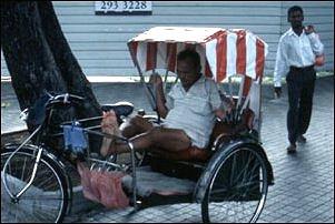 Riccha-Faher in Downtown Singapur