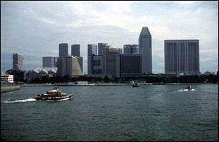 am Singapore River, Singapur