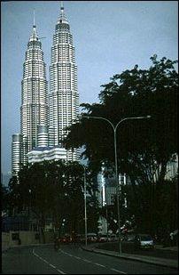 die Petrona Twin Tower, Kuala Lumpur, Malaysia