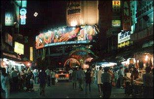 der Nachtmarkt in Kuala Lumpur, Malaysia